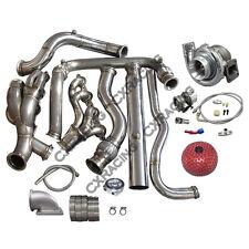 Turbo Header Downpipe Kit For 99-07 Chevrolet Silverado GMT 800 Vortec V8 5.3
