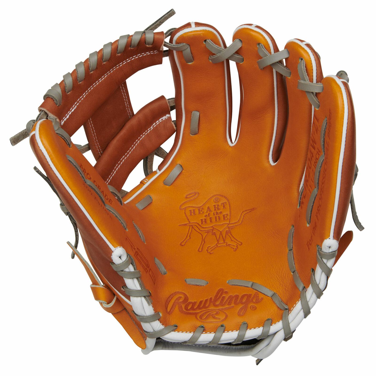 Rawlings Pror 204W-2T Heart of the hide serie R2G 11.5 pulgadas Guante de béisbol Derecho