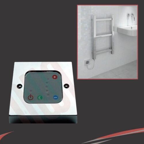 Chrome Termostatico Muro Controller per l/'utilizzo con elementi riscaldanti elettrici