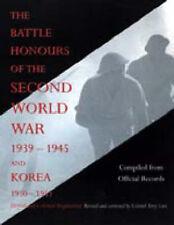 Battaglia onori della seconda guerra mondiale 1939 - 1945 e Corea 1950 - 1953 (briti