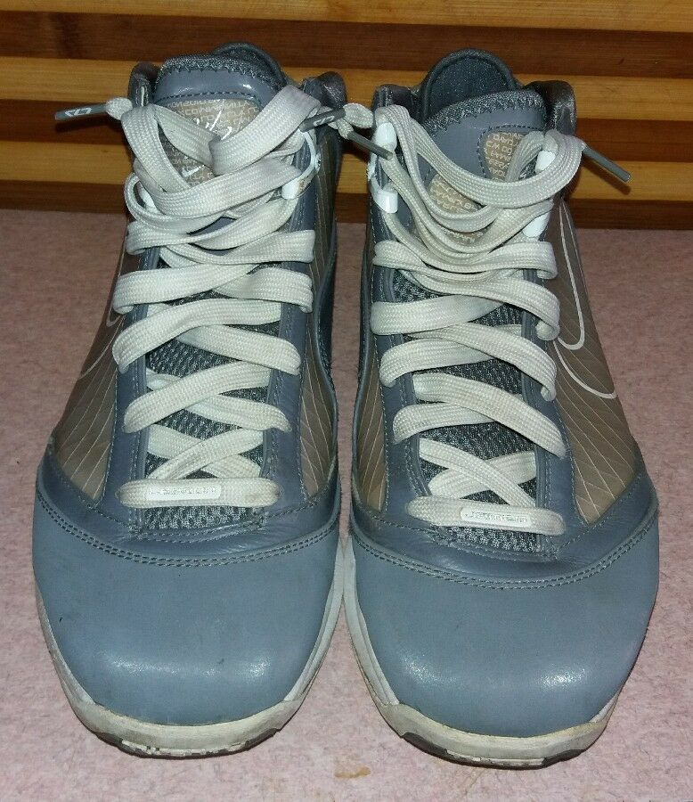Nike Air Max Lebron VII 7 Cool Grey 375664 002 Size 9 U.S. Good Used Condition