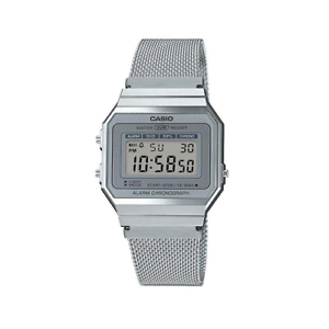 Casio-Classic-A700WM-7ADF-Silver-Stainless-Steel-Mesh-Band-Watch