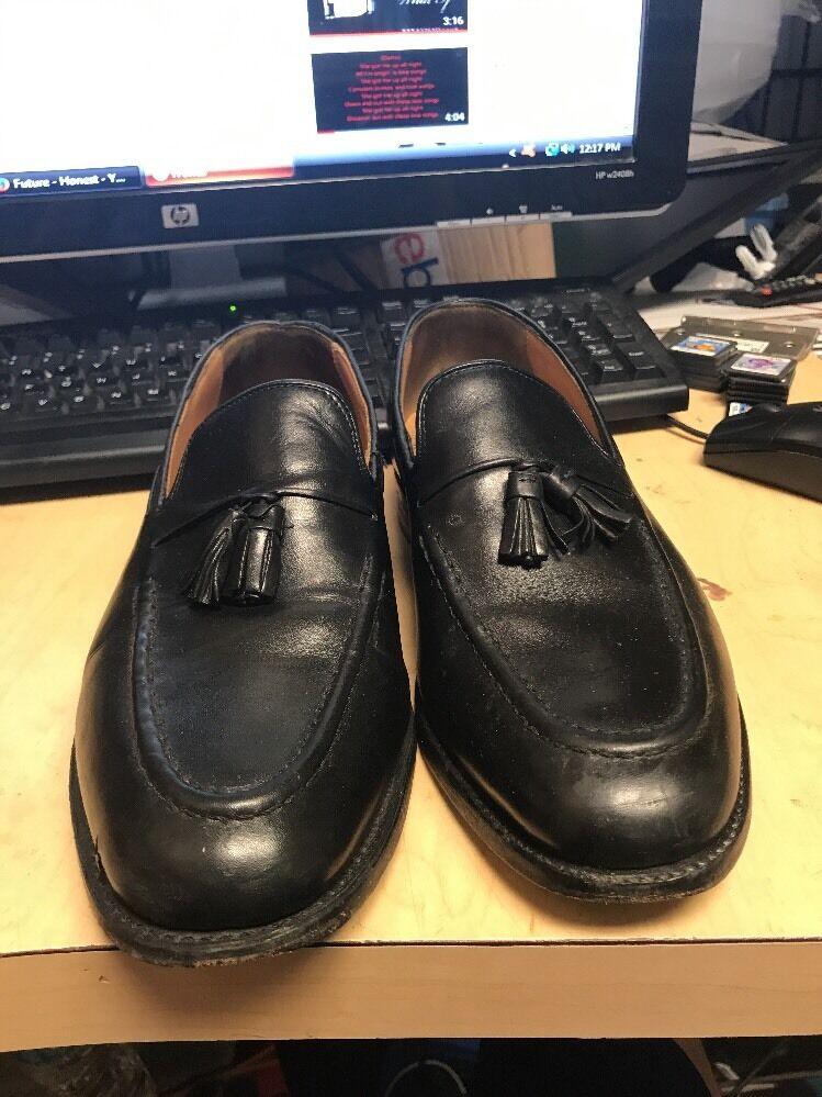 Florsheim Clifton 18432 Black Leather Loafer SZ 8