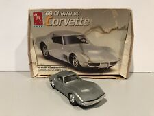 AMT ERTL '69 Chevrolet Corvette 1/43 Scale Model Kit Snap ASSY 1989