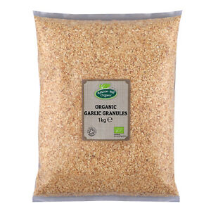 Organic Garlic Granules Certified Organic