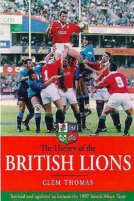 1 of 1 - The History of the British Lions, Thomas, Clem, Very Good Book