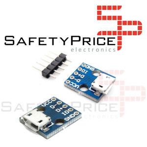 Microusb Breadboard 5v power supply module micro usb sp ref 0209