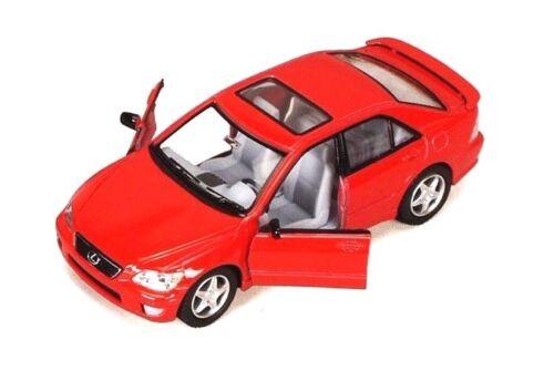 "Kinsmart Lexus IS300 Sedan 1:36 scale diecast model car Toy 5/"" 5046D RED"
