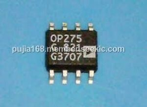 AD OP275GS SOP-8 Dual Bipolar//JFET Audio Operational IC