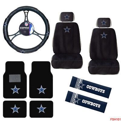 Nfl Dallas Cowboys Car Truck Seat Covers Floor Mats
