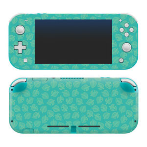 Animal Crossing New Horizons Teal Leaves Nintendo Switch Lite