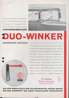 ? Werbung Für Duo-winker Stuttgart