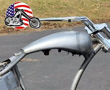 "5"" Custom Stretched Super Cruiser Pro-Street Chopper Bobber Gas Fuel Tank Harley"