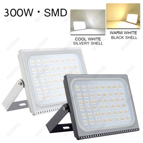 10W 500W Ultra-Thin LED Flood Light SMD Outdoor Garden Lamp IP65 110V Slim US