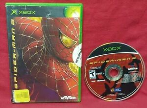 Spiderman 2 Microsoft Xbox OG Game Tested and Working