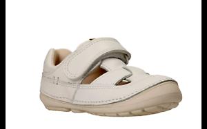 de Softly para Zapato niños de Clarks verano blanco cuero Meadow tAwCd1