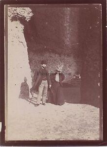 Romecaracalla Italia Foto Amateur Modalità Viaggio IN 1898 Vintage Citrato