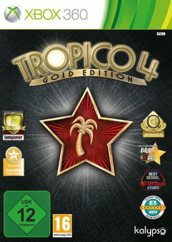 1 von 1 - Tropico 4 -- Gold Edition (Microsoft Xbox 360, 2012, DVD-Box)