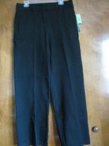 Taglia10 donna Nwt 99 cotone in Pantaloni Nyc 794278547502 Donna Karan da nero 4wUw8qSA