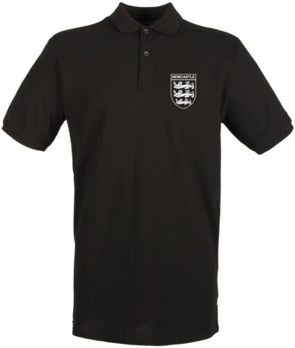 MANCHESTER CITY 3 LIONS CLUB AND COUNTRY SMALL CREST POLO MENS