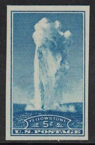 Scott-760-Ngai-Mnh-5c-Yellowstone-Imperforate-Farley-1935-sin-Usar-Nuevo