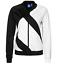 miniature 1 - Adidas Originals Women's EQT SST Superstar Zip Track Jacket Black White Medium