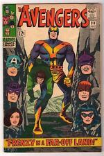 MARVEL Comics AVENGERS 30 1966 FN+ 6.0 Frenzy far off land