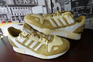 RARE-2008-ADIDAS-ORIGINALS-ZX-800-leather-gold-sneaker-018602-men-039-s-US-8-EU-42