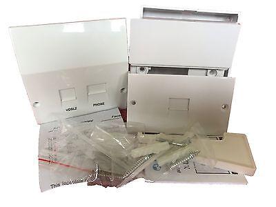 BT Type Master Socket VDSL2//ADSL Faceplate Phone /& Broadband Bundle 2019 model