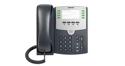 * Nuovo * Cisco Spa501g 8-line Telefono Ip Office- Carattere Aromatico E Gusto Gradevole