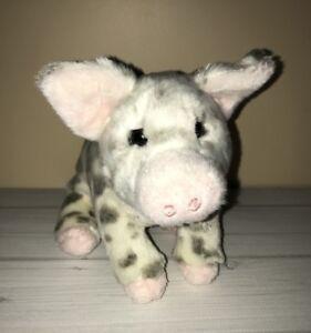 Douglas Small Spotted Pig Stuffed Animal Toy Plush Ebay