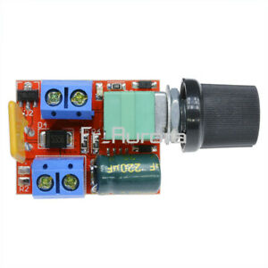 DC 3V-35V Mini 5A Motor PWM Speed Controller Speed Control Switch LED Dimmer