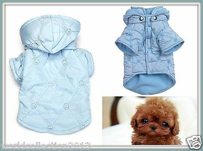 East Side Collections Quilted Pastel Jackets - Teacup Blue