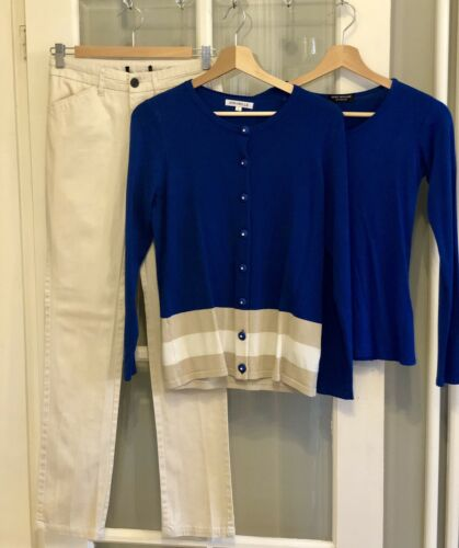 Cond Bundle taglia Ex 8 Pantaloni Spring Ladies Uk 10 Lovely Top Summer qPZSxA