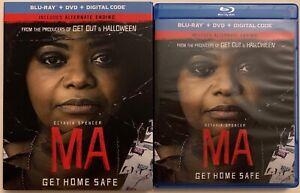 MA-GET-HOME-SAFE-BLU-RAY-DVD-2-DISC-SET-SLIPCOVER-SLEEVE-OCTAVIA-SPENCER-HORROR