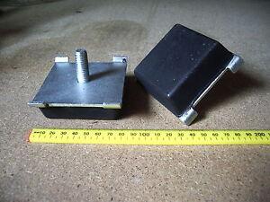 2 x Iveco spring pad rubber buffer 12-18 ton Iveco 120E 150E 180E Part 98405404
