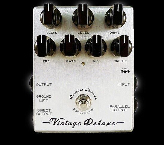 Darkglass Vintage Deluxe Preamp Overdrive Effect Pedal NEU & FREIES SHIPPING
