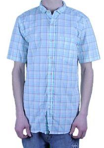 fb9f314d2ca2 STEVEN ALAN Men s Pastel   Multi-Color Cropped Collar Shirt ...