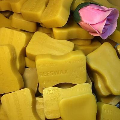1 lb. ORGANIC Beeswax Cosmetic Grade Filtered Natural Yellow Bees wax bars G