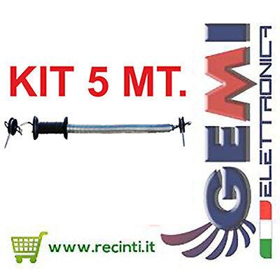 Kit Maniglia Cancello Recinto Elettrico 5 Mt Gemi