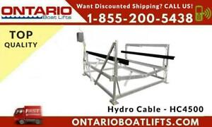 HYDRO-CABLE HC4500 - Lift your boat without physical effort. - Ontario Boat Lift - Call Us Now For Discounted Shipping Canada Preview