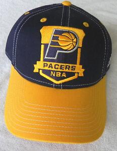 014e321cf9c INDIANA PACERS NBA VINTAGE 2-TONE ADJUSTABLE SNAPBACK ADIDAS CAP HAT ...