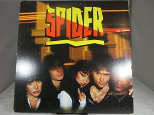 SPIDER-VINYL-RECORD-LP-PROMO-1980-NM-cover-VG