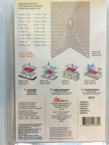 Sizzix Framelits Die Set Pick 1 of 11 Dies NEW