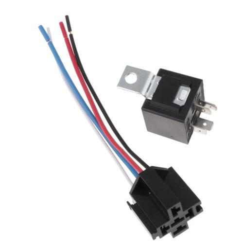 Connecteur de harnais de prise de relais de 4 bornes de 40A pour le camion