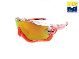 3731 Sur Détails Cycling Sunglasses 37 Iridium Sports Oakley Crystal Pop Jawbreaker 9290 fv76IgYby