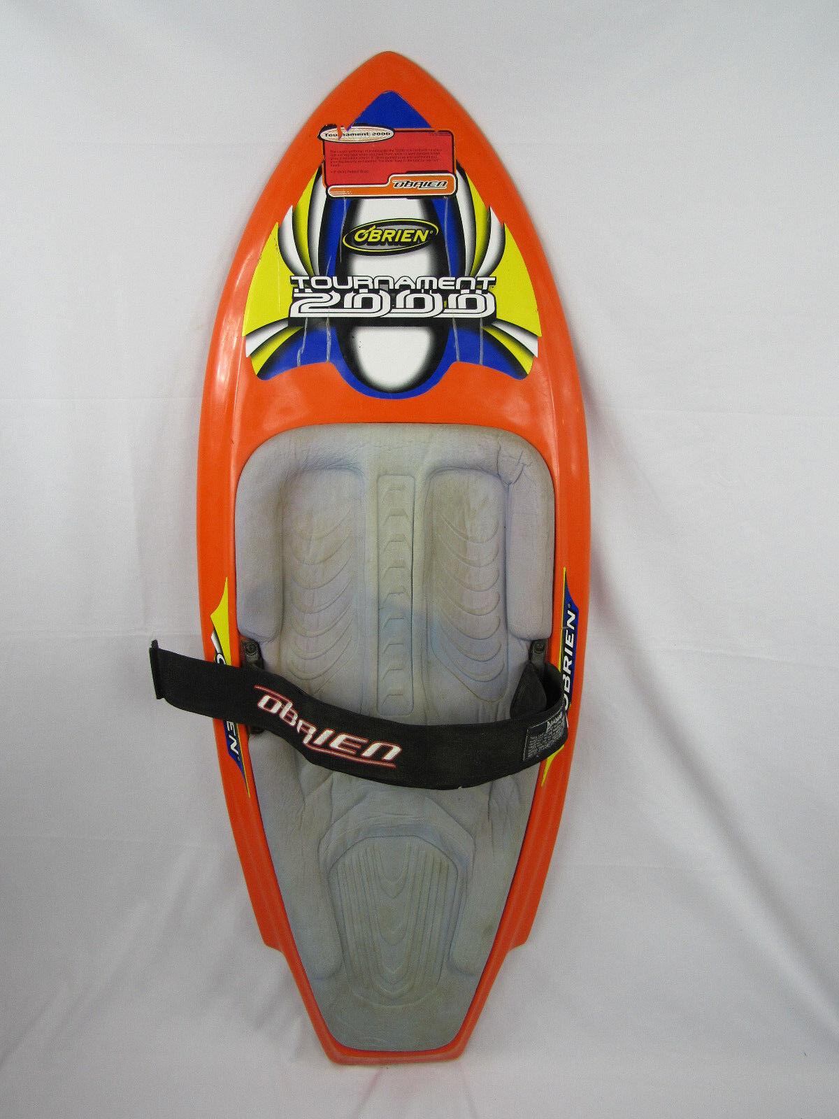 Obrien Water Sport Kneeboard w Strap Tournament 2000 orange Ski Vintage T2000