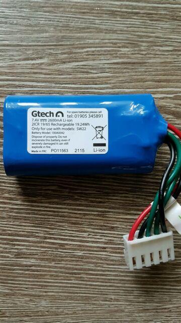 FOR GTECH SW22 Floor Sweeper Battery