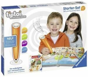 tiptoi-Starter-Set-Stift-und-Bauernhof-Buch-ab-4-Jahren-Interessantes-Sachwis