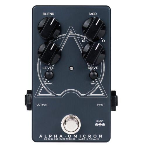Darkglass Electronics Alpha Omicron Bass Preamp Overdrive Guitar Effects Pedal